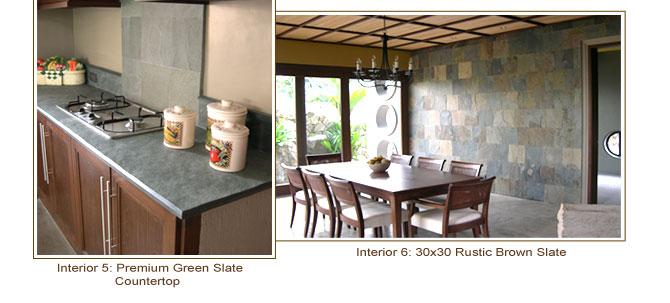 Countertop Materials Philippines : GT Natural Stone Slate, Sandstone, Limestone, Granite Interior ...